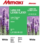 I-LX100-W-22-1 White for Mimaki JV400-130LX , JV400-160LX Latex Ink