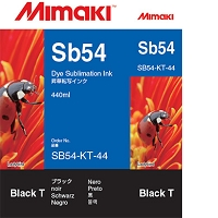I-SB54-KT-44   Sb54 Dye sublimation ink cartridge Black  440ml