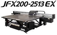 (NEW) MIMAKI JFX200-2513 EX UV LED Flatbed Inkjet Printer