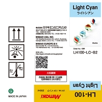 I-LH100-LC-B2 LH-100 UV curable ink 250ml bottle Light Cyan
