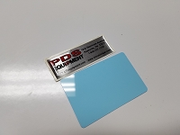 CR80/30 LB-NM Blank Light Blue card No Mag strip (Box of 500) $0.11 per card