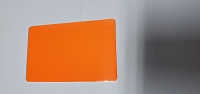 CR80/30 FO-NM Blank Fluorescent Orange card No Mag strip (Box of 500) $0.19 per card