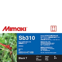 I-SB310-KT-BB-3  - Dye Sublimation Sb310 Ink Black 2L Bottle