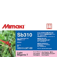 I-SB310-LMT-BB-1 Dye Sublimation Sb310 Ink Light Magenta 2L Bottle