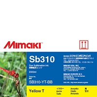 I-SB310-YT-BB-1 Dye Sublimation Sb310 Ink Yellow 2L Bottle