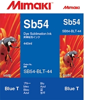 I-SB54-BLT-44   Sb54 Dye sublimation ink cartridge Blue  440ml