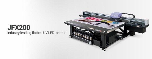 #1 MIMAKI JFX200-2513 UV LED Flatbed Inkjet Printer