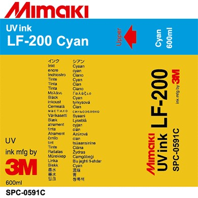 SPC-0591C LF-200 UV curable ink pack Cyan