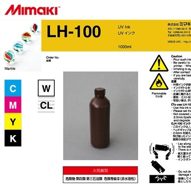I-LH100-CL-BA-1 UV Ink LH-100 CLEAR (1L Bottle)