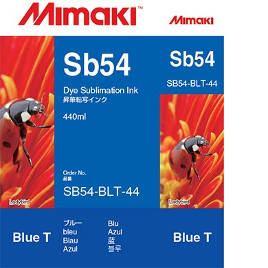 I-SB54-LBT-44   Sb54 Dye sublimation ink cartridge Light Blue  440ml