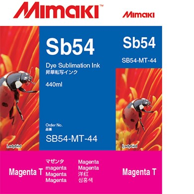 I-SB54-MT-44   Sb54 Dye sublimation ink cartridge Magenta  440ml